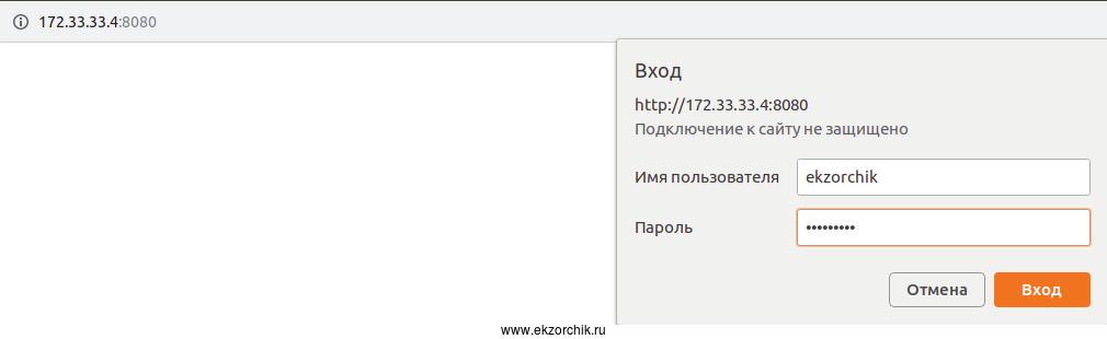 Авторизация в админку собственного 3proxy + Tor