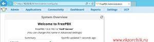 Современный интерфейс Asterisk 13.17 + FreePBX 13 на Ubuntu Trusty Server