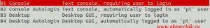 Режимы загрузки системы Raspbian Jessie & Stretch
