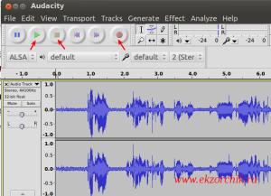Запись и воспроизведение звука записанного с использованием микрофона ноутбука