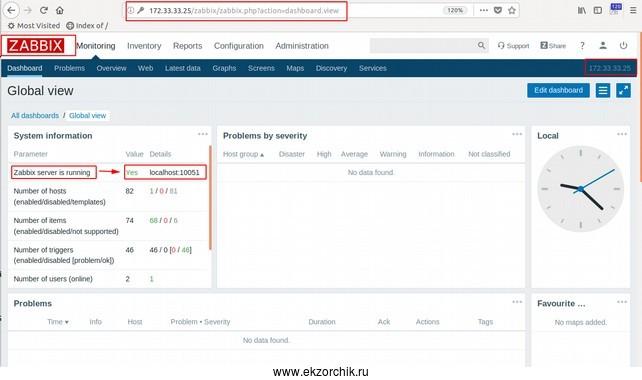 Обновленный Zabbix 4 на Ubuntu 18.04 Server