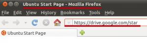 Заходим в Google Disk через браузер Mozilla.