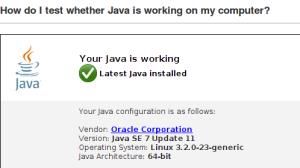 Результат успешного выполнения приложений Java в браузере Firefox
