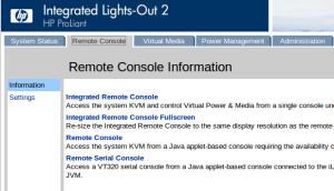 Переходим на вкладку Remote Console - Remote Console